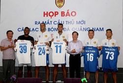 Quảng Nam ra mắt dàn tân binh ngay sau trận thắng HAGL
