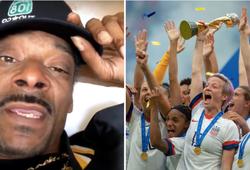 Rapper đình đám Snoop Dogg đòi công bằng cho ĐT nữ Mỹ