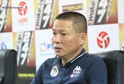 HLV Chu Đình Nghiêm giải thích lý do rút Quang Hải ra sớm ở trận gặp Khánh Hòa