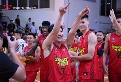 """Dư Minh An xuất sắc """"lụm"""" danh hiệu MVP trong ngày Saigon Heat bóp nghẹt Thang Long Warriors tại CIS"""