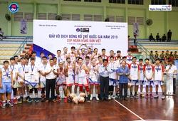 U17 nam XSKT Hậu Giang lên ngôi tại Giải Vô địch Bóng rổ Trẻ Quốc gia