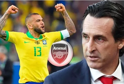 Chuyển nhượng Arsenal 15/7: Unai Emery hối thúc đưa Dani Alves về Arsenal