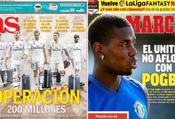 Real Madrid lên kế hoạch thanh lý 200 triệu để gây quỹ chiêu mộ Pogba
