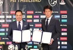 Đội tuyển Thái Lan chính thức ra mắt HLV Akira Nishino