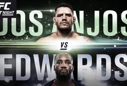 TRỰC TIẾP UFC on ESPN 4: Rafael dos Anjos vs Leon Edwards, 8h ngày 21/7