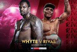 Kết quả Quyền Anh: Dillian Whyte vs Oscar Rivas, 4h sáng 21/7
