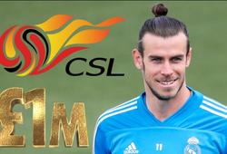 Gareth Bale nhận được lời mời lương tuần hơn 1 triệu USD từ Trung Quốc