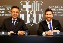 Barca đàm phán gia hạn hợp đồng lần thứ 10 với Messi