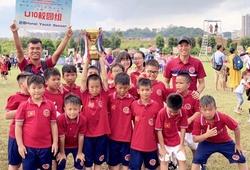 Đội bóng trẻ của HLV Phạm Minh Đức đạt thành tích tốt tại Trung Quốc
