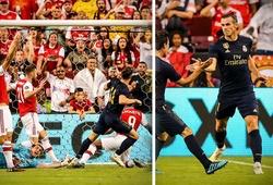 Bale làm lu mờ Hazard và những điểm nhấn ở trận Real Madrid vs Arsenal