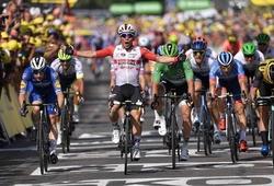 """Chặng 16 Tour de France: Caleb Ewan được tôn vinh """"nhanh nhất thế giới"""""""