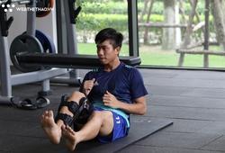 Phút trải lòng của Phan Văn Đức sau chấn thương nghiêm trọng