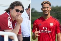 Sếp lớn Arsenal giải thích lý do cho mượn lại tân binh William Saliba