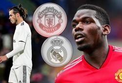 Chuyển nhượng Real Madrid 28/7: Real tổng tấn công Pogba sau khi thanh lý Bale