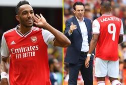 Lacazette chấn thương, Aubameyang nổ súng và các điểm nhấn trận Arsenal vs Lyon