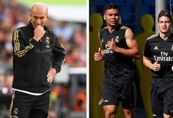 Chuyển nhượng Real Madrid 31/7: Zidane mập mờ về tương lai của James Rodriguez
