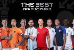 Tin bóng đá 31/7: Messi, Ronaldo và Van Dijk tranh giải FIFA The Best 2019