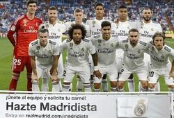 Lịch thi đấu Real Madrid tại La Liga 2019/20