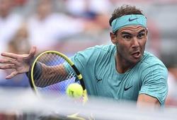 """Rogers Cup 2019: Nadal """"rỉ sét"""" vẫn vào vòng 1/8"""