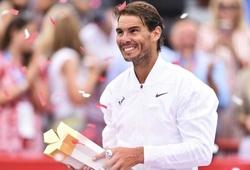 Nadal đạt cột mốc chỉ có Federer và Jimmy Connors làm được