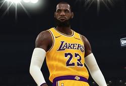 LeBron James giữ vị trí độc tôn tại NBA 2K trong nhiều năm liền