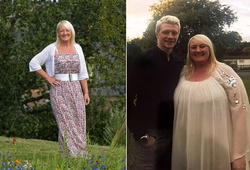 Bà mẹ béo phì giảm nửa trọng lượng cơ thể để dự đám cưới con trai