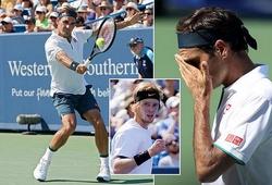 Giải quần vợt Cincinnati Masters: Federer thua tay vợt phải vượt qua vòng loại