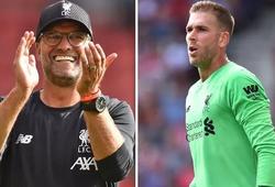 HLV Klopp nói gì về tình huống Adrian mắc lỗi khiến Liverpool nhận bàn thua?