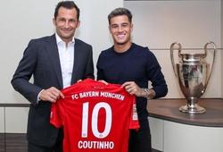 Coutinho chính thức được Barca cho Bayern mượn và chi tiết thoả thuận