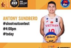 Kết quả FIBA U18 3x3 Asia Cup shooting contest: Sundberg bị loại sớm