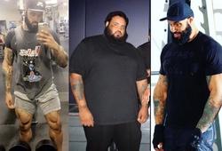Chàng trai giảm 135kg nhờ tập gym và… đi bộ đến siêu thị