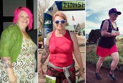 Nữ quản lý phòng thu 50 tuổi nặng 135kg giảm nửa trọng lượng nhờ chạy marathon
