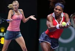 Nhận định US Open: Serena vs Sharapova vẫn giữ nhiệt sau 15 năm đụng độ