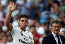 Chuyển nhượng Real Madrid 28/8: James muốn chia tay Real Madrid