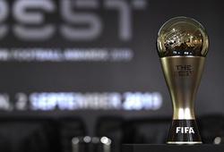 Danh sách 3 cầu thủ xuất sắc nhất năm của FIFA được xác nhận