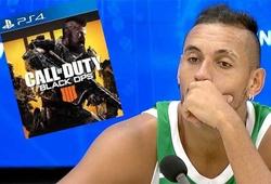 """Bị loại khỏi US Open, Nick Kyrgios đổ thừa cho game """"Call of Duty"""""""