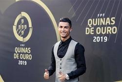 Cristiano Ronaldo bỏ túi thêm danh hiệu cao quý