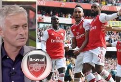 HLV Mourinho hiến kế cho HLV Unai Emery sử dụng tam tấu của Arsenal
