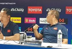 HLV Park Hang Seo nổi nóng với phóng viên Thái Lan