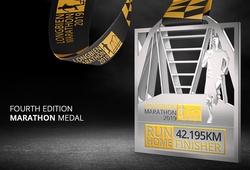 Chạy bộ mỗi ngày: Long Biên Marathon 2019 tung mẫu kỷ niệm chương lạ mắt