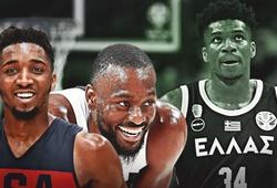 Lịch thi đấu FIBA World Cup 2019 ngày 7/9: ĐT Mỹ gặp Giannis Antetokounmpo