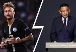 Chủ tịch Barca từ chối ký hợp đồng với Neymar vào tháng 1/2020