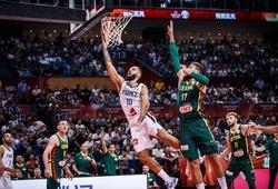 Pháp nhọc nhằn vượt qua Lít-va, kéo Australia vào Tứ kết FIBA World Cup 2019