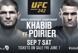 UFC 242: Khabib Nurmagomedov kết liễu Dustin Poirier bằng siết cổ sau