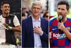 Wenger tiết lộ cách Arsenal bỏ lỡ Ronaldo và Messi trong quá khứ