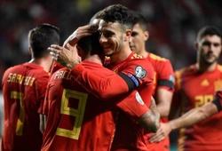 Kết quả vòng loại Euro 2020 đêm qua: Tây Ban Nha 4-0 Faroe