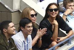Tình cũ của Cristiano Ronaldo đến US Open để làm gì?
