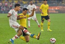 ĐT Việt Nam hưởng lợi sau thất bại của Malaysia trước UAE