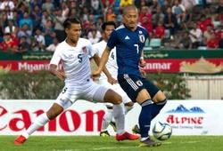 Link xem bóng đá trực tuyến Myanmar vs Nhật Bản (19h20, 10/9)