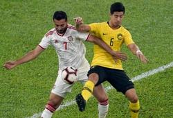 Kết quả Malaysia vs UAE (H2: 1-2): Chủ nhà thua ngược đáng tiếc